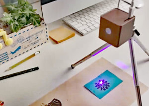 Cubiio: a crowdfunded desktop laser engraver
