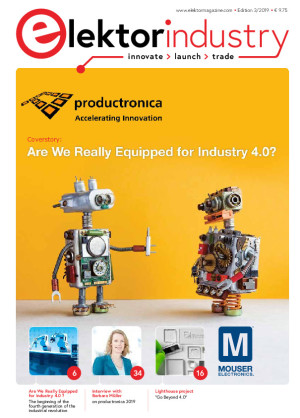 Elektor Industry Issue 3/2019 Now Available: productronica 2019 Special Edition
