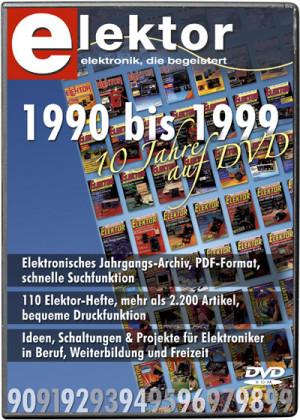 ANGEBOT DER WOCHE: Elektor-Jahrgangs-DVD 90-99 bis Montag, 13.08. bestellen und 34% spare