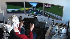 Bremsen mit Gedankensteuerung - erfolgreicher Test im Simulator