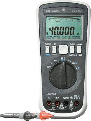 True RMS Digital-Multimeter mit USB-Schnittstelle