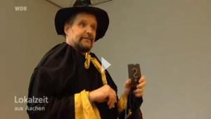 """Prof. Oßmann """"zaubert"""" für Kinder"""
