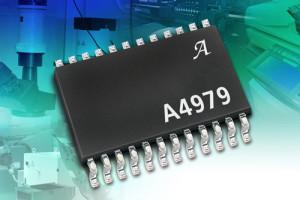 Schrittmotor-Treiber-IC mit umfangreichen Programmiermöglichkeiten und Diagnose-Funktione