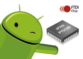 USB-2-UART-Bridge-Chip für Android-Systeme