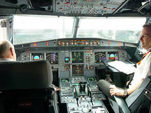 Mobilgeräte im Flugzeug