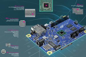 Poster von Intels Galileo-Board
