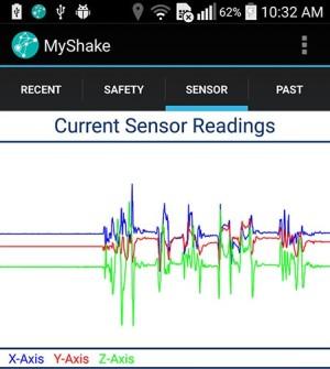 Smartphone als Erdbeben-Messstation
