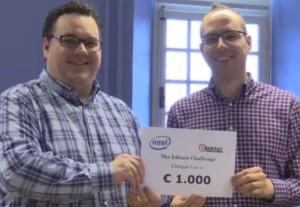 Hauptgewinn Edison Challenge NL überreicht