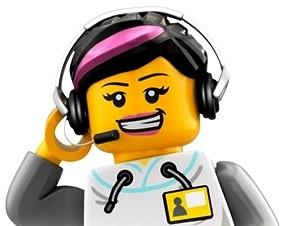 Bot or not? Bild: Lego