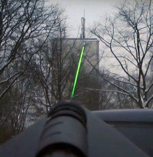 HyperLOG-Antenne mit Laserscope (Option)