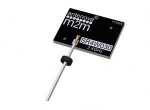 Nichtverstimmbare 2.4-GHz-Antenne. Bild: Antenova