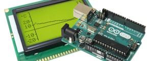 Arduino-Temperaturrekorder.