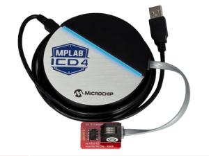 ICDPMPLAB ICD 4. Bild: Microchip