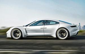 Der Mission E kommt 2019. Bild: Porsche