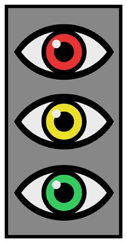 Autonome Ampel. Bild: Elektor / TS