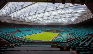 Wimbledon erstrahl in LED-Licht. Bild: Musco Lighting