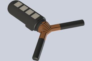 MIT-Forscher haben einen einnehmbaren Sensor entwickelt, der einige Wochen im Magen verbleiben und drahtlos mit einem externen Gerät kommunizieren kann. Quelle: MIT