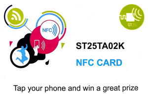 NFC-Tag in Scheckkartenform