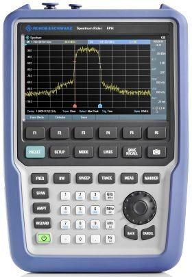 Neuer Handheld-Spectrum-Analyzer von Rohde & Schwarz