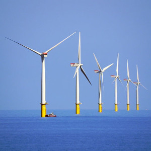 Windenergie speichern. Bild: David Dixon