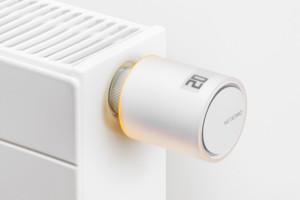 Smartes IoT-Heizungsventil. Bild: Netatmo.