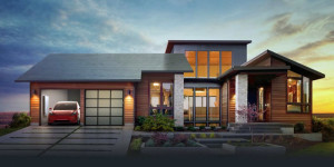 Solar-Dachziegel und mehr von Tesla/SolarCity