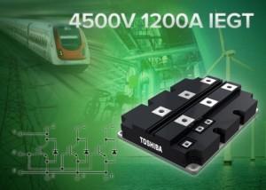 4,5 kV / 1,2 kA – IEGT-Modul von Toshiba