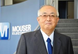 The new Vice President of Mouser Electronics-Japan, Sam Katsuta