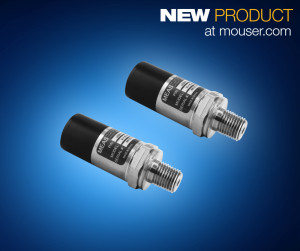 TE's MEAS M5600 and U5600 wireless pressure transducers, available from Mouser Electronics, are dual-input, high-accuracy pressure and temperature sensors designed with an ADC with 24-bit resolution using I2C output protocols.