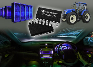 MCP2517FD. Bild: Microchip