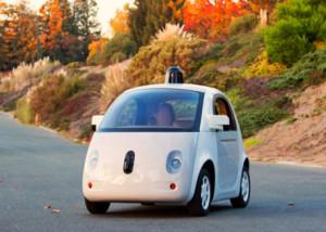 Prototyp: Selbstfahrendes Auto von Google