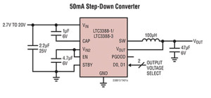 Low Power Conversion for Energy Harvesting
