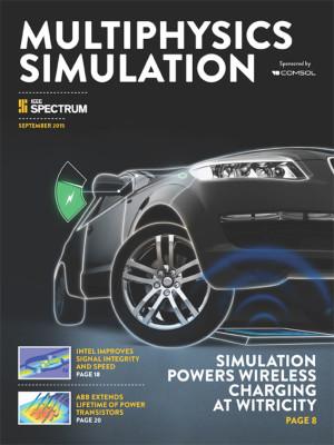Bahnbrechende Simulationsprojekte, Modelle und Simulations-Apps in der neuen Ausgabe von Multiphysics Simulation 2015