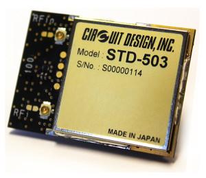 Kompaktes 2,4 GHz Funktransceiver-Modul für Industrieapplikationen
