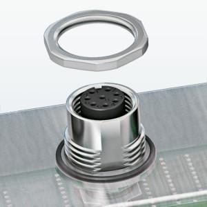 Gehäuseverschraubungen für THR- und SMD-Kontaktträger