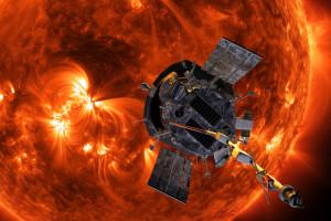 Satellit taucht in die Sonnenkorona
