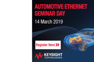 Automotive Ethernet  Seminar Day
