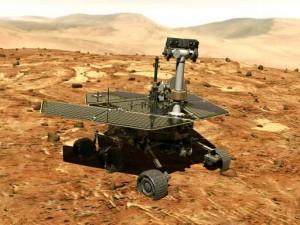 Mars-Rover Opportunity. Bild: NASA.