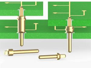 Einpress-Pins für beschichtete Durchgangsbohrungen