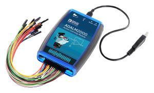 Review: Das kompakte Elektroniklabor ADALM-2000 alias M2k