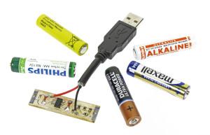 Gratis-Artikel der Woche: Batterie-Ersatz mit USB