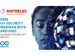 Distrelec lanciert fünfte Auflage der Distrelec-Webinar-Serie in Zusammenarbeit mit Arduino