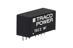 Distrelec erweitert den Webshop mit der neuen Generation der 2- und 3-Watt-SIP-8-DC/DC-Konverter der TEC 2/3(WI)-Serien von Traco Power