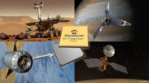 Stromsparende, strahlungstolerante PolarFire®-FPGAs von Microchip ermöglichen  Raumfahrtsysteme mit hoher Bandbreite und geringeren Gesamtsystemkosten