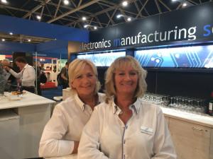 Hanneke de Voogd (l) und Ineke Vis (r) von tbp electronics