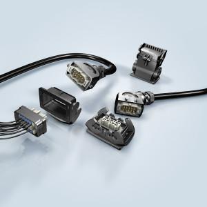 : Jetzt bei Heilind: Die Steckverbindergehäuse der Han-Eco B-Serie von HARTING mit rückseitiger Montage. (Abb. HARTING)