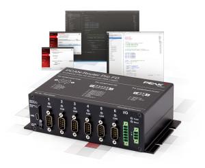 Frei programmierbarer 6-Kanal-Router und Datenlogger für CAN und CAN FD