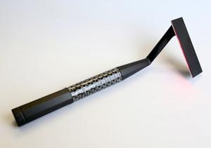 Prototyp eines Laser-Rasierapparats