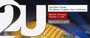 Mentor Graphics European User Conference am 11. Oktober in München