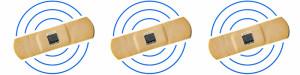 Smartes Pflaster bald mit Sensortechnik und Funk? Bild: T. Scherer